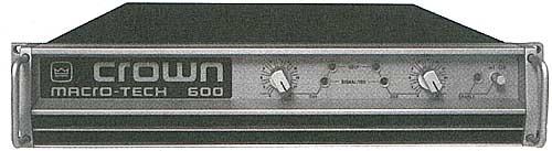 Crown Macro Tech 600